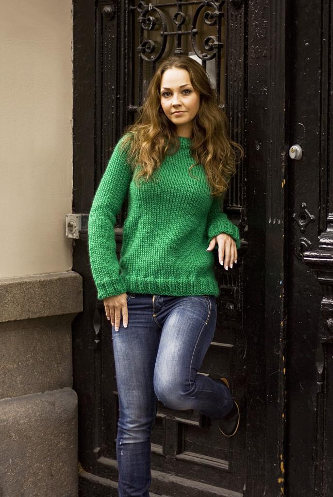 Akeleie genser