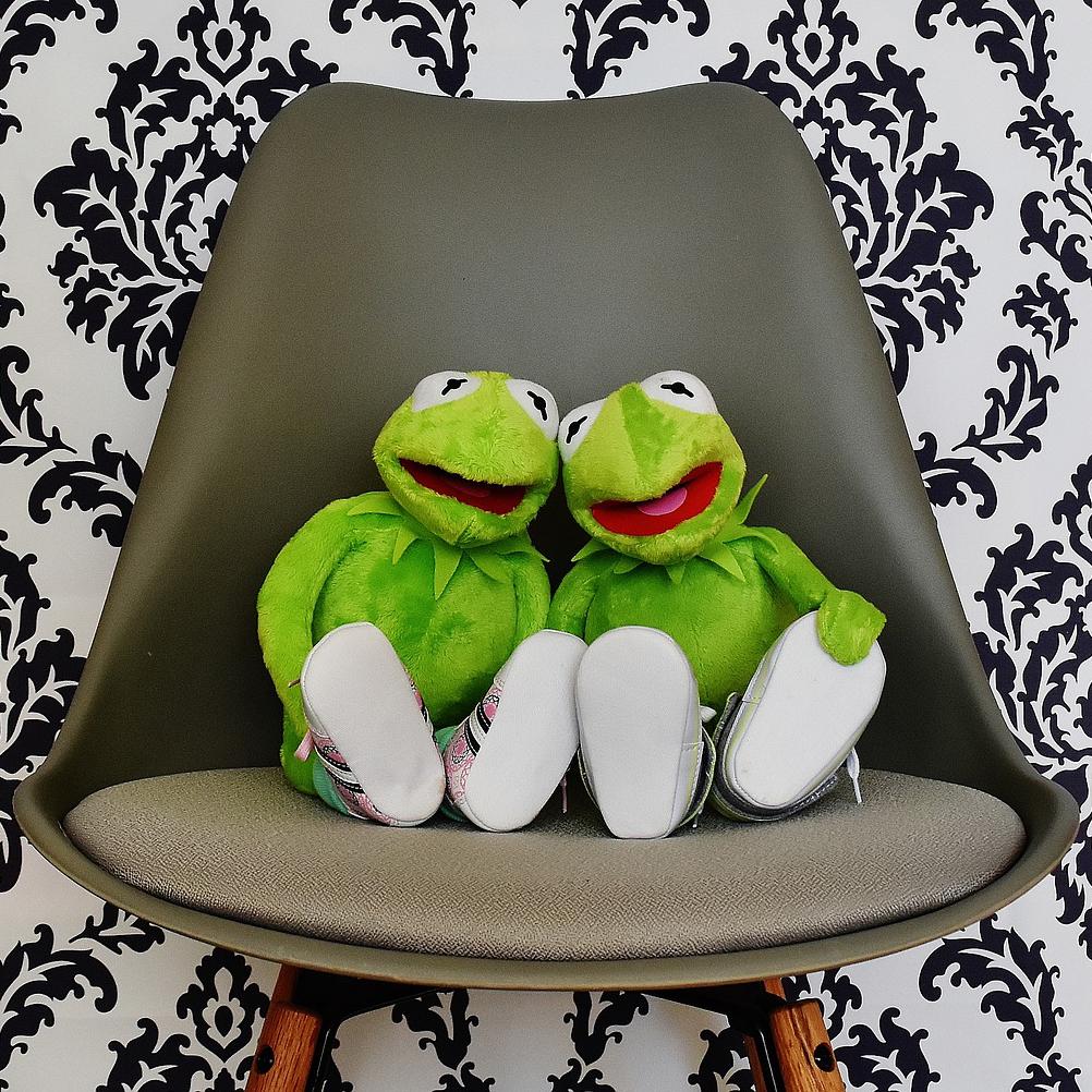 Kaja Marie og jeg støtter hverandre når det er vanskelig å være grønn.
