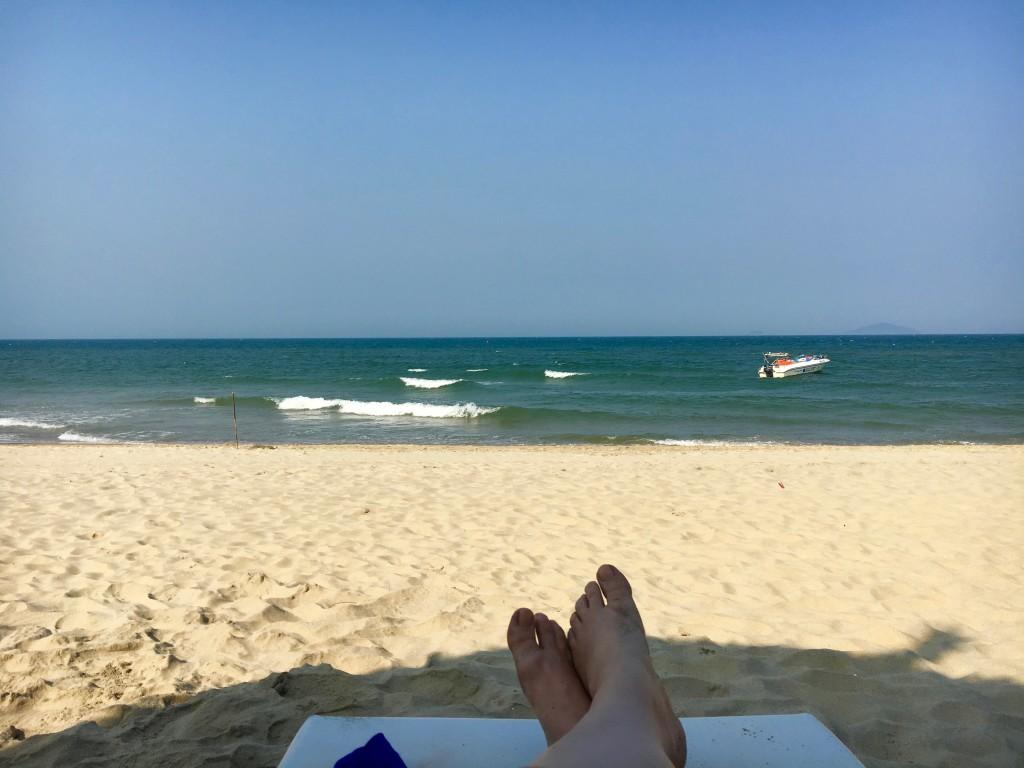 Jeg måtte jo teste stranda den ene fridagen jeg hadde.