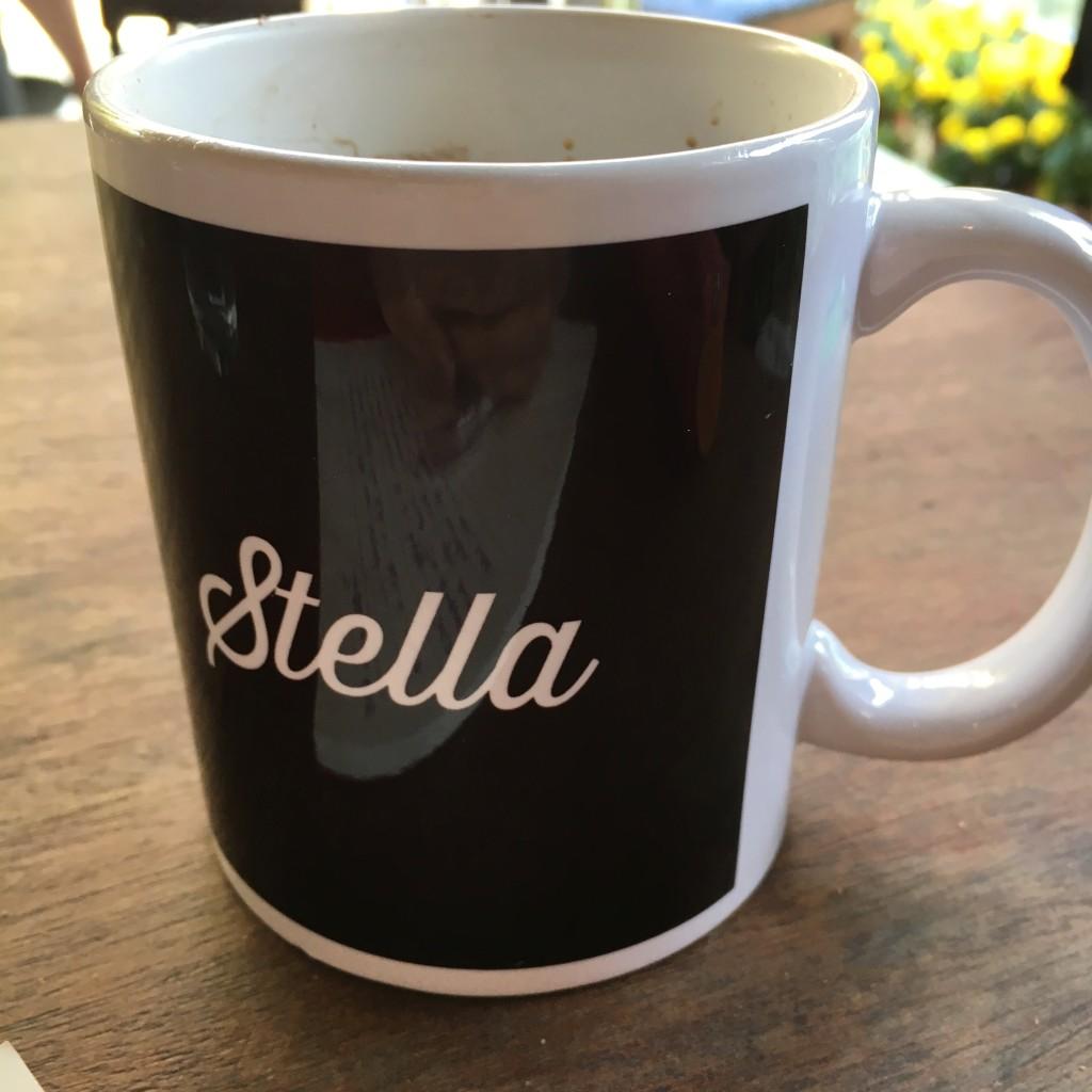 På masterminden fikk jeg egen kopp med navn på! Den har selvfølgelig blitt med hjem.